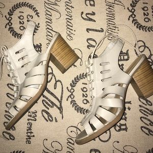 Maurices tie up sandal